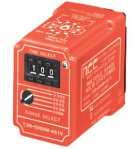 National Controls Corp ncc Time Delay Relay T3m 0999m 467