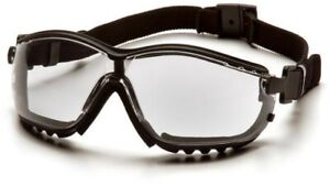 Pyramex V2g Safety Goggles Glasses Ms97220 Clear Lens 12 box 12 Boxes