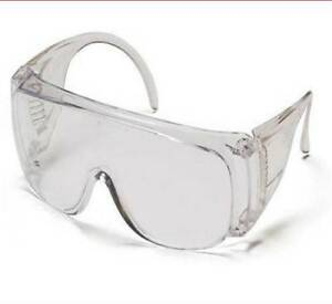 Pyramex Visitor Spec clear Safety Glasses 12 Pair Per Box 6 Boxes Ms97200