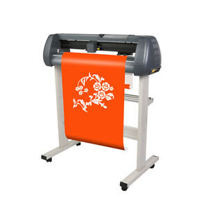 Mile 110v 28 Vinyl Sign Sticker Cutter Plotter Engraving Print Cutting Machine
