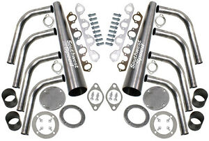 New Lake Style Header Kit bbf 429 460ci 3 1 2 Collector ford street Rod hot rat