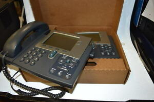 Cisco Cp 7941g Ip Telephone System Telephones 2 Pc Used Good Condition