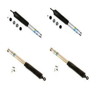 Bilstein Front Rear B8 Shock Absorber Kit For 66 96 Ford Bronco W 2 4 Rear Lift