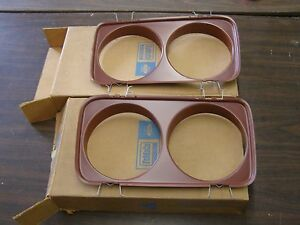 Nos Oem Ford 1965 Fairlane Headlight Door Pair Headlamp Doors