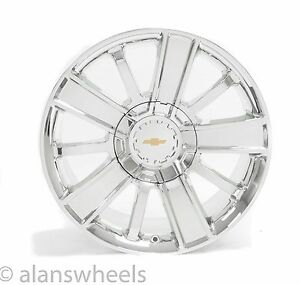 4 New Chevy Silverado Avalanche Chrome 20 High Country Wheels Rims 5653