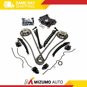 Timing Chain Kit Cam Phaser Oil Pump Gasket Fit 04 10 Ford 5 4 Triton 3 Valve