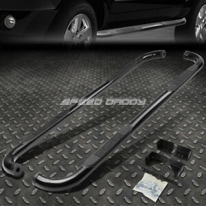 For 04 10 Dodge Durango chrysler Aspen Black 3 side Step Nerf Bar Running Board