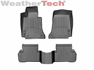 Weathertech Floor Mats Floorliner For Mercedes C Class Sedan 2015 2019 Black