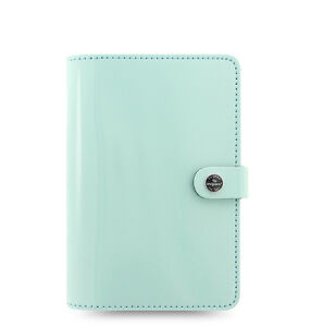 Filofax Original Organizer Personal Duck Egg Blue Patent Leather 026038