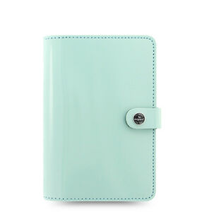 Filofax Original Organizer Personal Duck Egg Blue Patent Leather 026038 2018