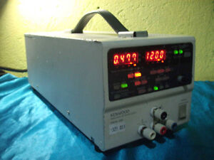 Kenwood Pw18 3ad Pw183ad Regulated Dc Power Supply 18va 3a