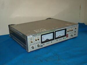 Leader Ljm 1851 Ljm1851 Dvd cd Jitter Meter