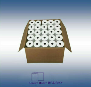 3 1 8 X 43 Thermal Register Paper Case Of 50 Rolls