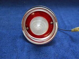 1961 Chevy Station Wagon Backup Reverse Light Nos Guide 716