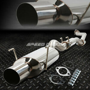 For 02 06 Acura Rsx Dc5 Type s K20a2 4 Oval Muffler Tip Racing Catback Exhaust