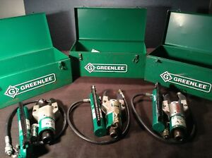 Greenlee 750h767 Hydraulic Cable Cutter With Hand Pump Ram Hydraulic