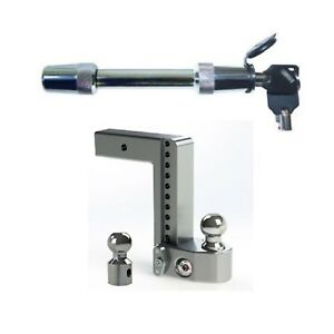 Weigh Safe Ws10 2 5 Adjustable 10 Drop Hitch Ball Mount Hitch Lock