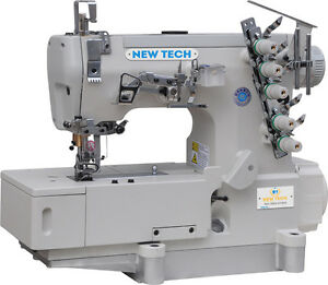 New tech Coverstitch 3 needle 5 thread Sewing Machine With Direct Drive Usa Sale