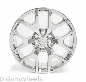 4 New Chevy Suburban Tahoe Chrome 22 Wheels Rims Lugs Free Shipping 5656