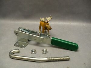 Carr lane Cl 350 pa Latch Action Toggle Clamp 6 1 8 Drawing Movement