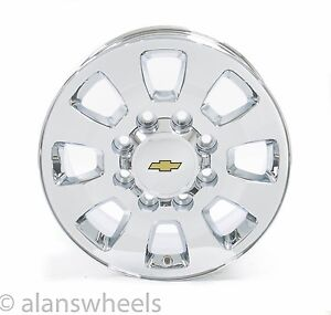 New Chevy Silverado Hd 2500 3500 8lug 8x6 5 18 Chrome Wheels Rims Suburban 5501
