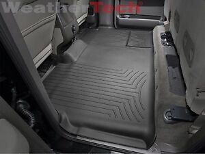 Weathertech Floorliner For Ford F 150 Supercrew 2009 2014 2nd Row Black