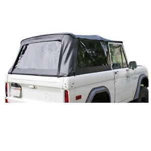 Rampage 98401 Black Soft Top W Tinted Windows For 66 77 Ford Bronco