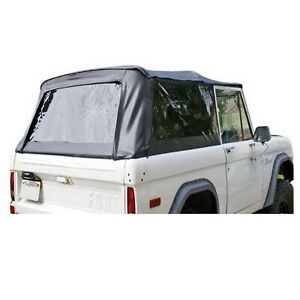 Rampage 98402 Set Of White Vinyl Complete Top W Tinted Windows For 66 77 Bronco