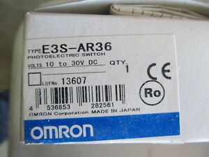 Omron Photo Electric Switch Me3s ar36