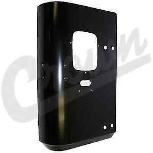Crown Automotive J5764220 Black Rear Right Corner Panel For 76 86 Jeep Cj5 Cj7