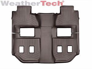 Weathertech Floorliner Mats For Chevy Suburban Gmc Yukon Xl 2015 2018 Cocoa