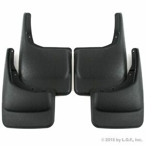 2004 2014 Ford F150 Mud Flaps Mud Guards Splash Guard Front Rear Molded 4pc Set