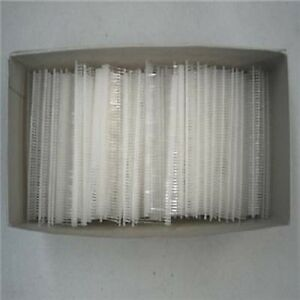 Case Of 50 000 Fine Fabric 1 Plastic Tagging Fastners Barbs