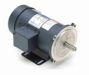 3 4 Hp 2500 Rpm 90 Volts Dc 56c Frame Tefc Leeson Electric Motor 098009
