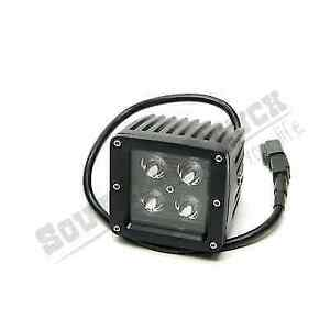 Southern Truck 79916 Black Out 3 X 3 Square Led Spot Light 1440 Lumens
