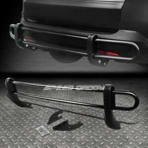 For 04 09 Lexus Rx 330 400h Black Coated Double Bar Rear Bumper Protector Guard