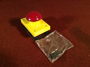 Rees 04596 002 Emergency Stop Push Button Red Mushroom Plunger