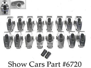 348 409 Chevy 64 63 62 61 6 Impala Scorpion Roller Rockers Rocker Arms 1 80 7 16