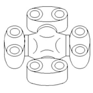 At74269 At59127 Universal Joint Assy For John Deere 340d 440c 440d 540b 540d 640