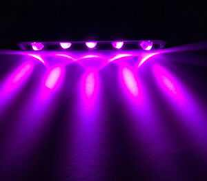 12v Purple 5 Led Light Pod For Step Lazer Home Motorcycle Car Boat Lighting