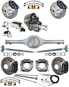 New Suspension Wilwood Brake Set currie Rear End posi trac Gear 82 97 S10 s15