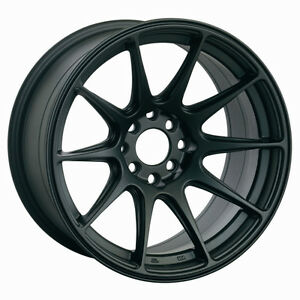 Xxr 527 20x8 5 Rims 5x114 3 40 Flat Black Wheels Fits Honda Accord 2008 2012