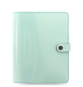 Filofax Original Organizer A5 Duck Egg Blue Patent Leather 026039