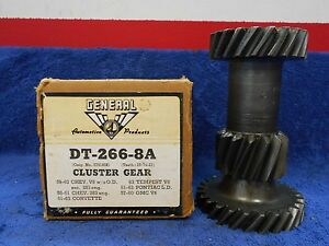 1959 63 Chevy V8 Without Overdrive Transmission Cluster Gear New 916