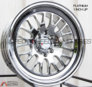 Xxr 531 16x8 4x100 114 3mm 0 Platinum Wheels Fits Civic Ef Ek Eg Miata Mr2 Fox