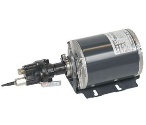 Rotary Gear Pumps Carbonator Mount With 1 3hp Motor 1 4 Port Size Cast Iron