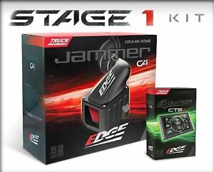 Edge 19031 Stage 1 State Evolution Cts2 Jammer Air Intake For 03 07 Ford 6 0l