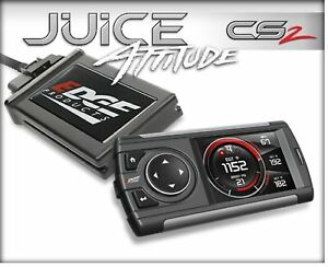 Edge 11401 Juice With Attitude Cs2 Programmer For 03 07 Ford Powerstroke W 6 0l
