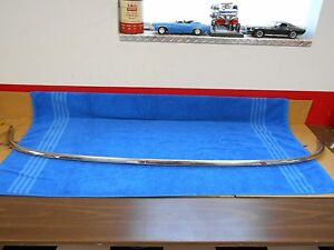 1955 56 Ford Custom Fairlane Rear Glass Exterior Trim Moulding Nos Ford 916