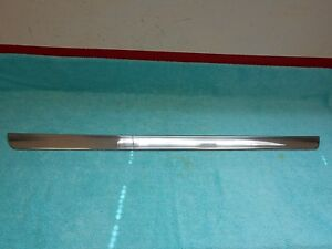 1958 Lincoln Premier Rh Fender Skirt Trim Nos Ford 916